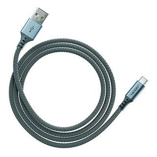 Ventev Chargeync Aleacion Cable Usb Tipo Ac 4 Pies Acero Gri