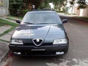 Sucata Alfa Romeo 164 Super 24v 95 Para Retirada De Peças