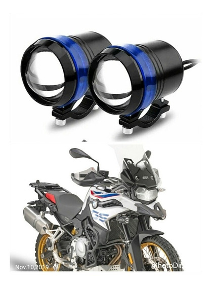 2 Farol Milha Led U3 Moto 3000l Honda Broz Xre 125 150 300cc