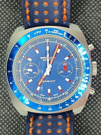 Relógio Breitling Sprint 2016 Ano 1974 Praticamente Sem Uso