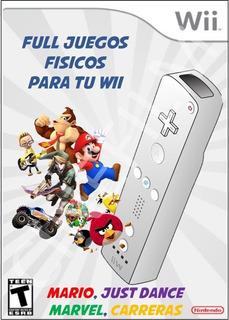 Full Juegos Wii Just Dance Mario Zelda Smash Fifa