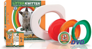 Litter Kwitter Cat Toilet Training System Teach Your Cat To