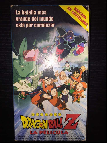 Vhs Dragon Ball La Película