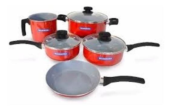 Tramontina - Set Bateria De Cocina 5 Piezas - Linea Quebec