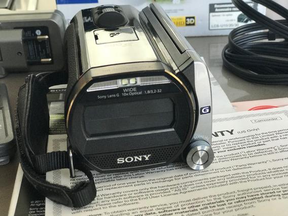 Camera Filmadora 20.1 Mp Sony Hdr-td20v 3d - 64gb - Full Hd