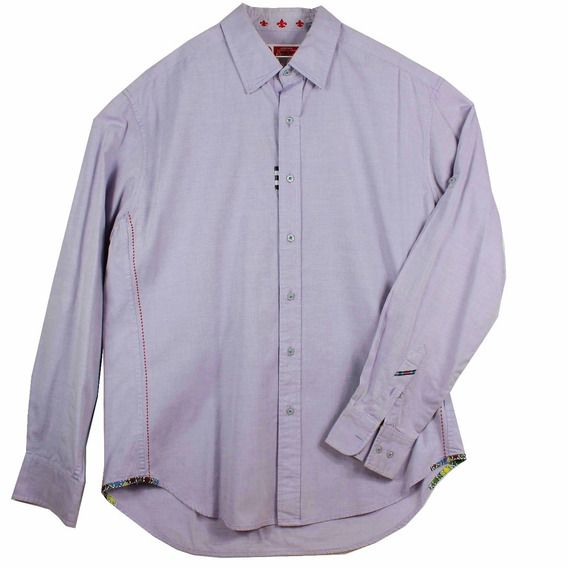 Camisa Robert Graham Laundered Para Hombre Talla Xl
