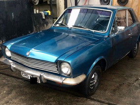 Ford Corcel 2 Luxo Azul Ano 1975