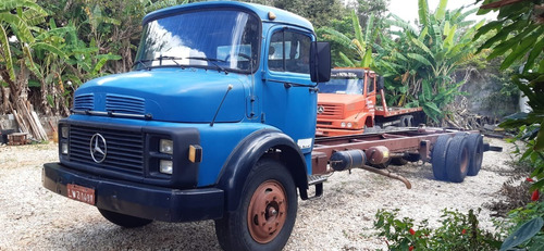 Mb 1113 Truck No Chassi 1981