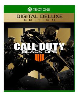 Call Of Duty Black Ops 4 Deluxe Xbox One Online Y Offline
