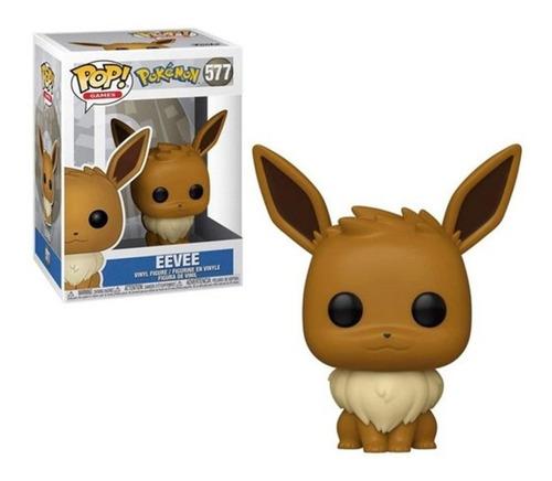 Boneco Funko Pop Games Pokémon Eevee  - #577