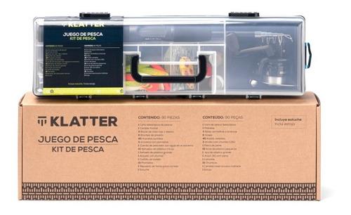 Kit Caña De Pesca 80 Piezas Klatter