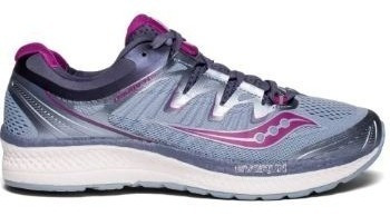 Zapatillas Saucony Triumph Iso 4 Gris/violeta Mujer Running