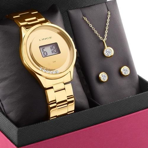 Kit Relógio Lince Feminino Barato Original Garantia Nfe