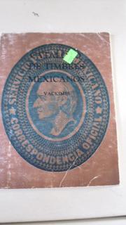 Catalogo De Timbres Mexicanos Vintage Vackimes 1985-86 Usado