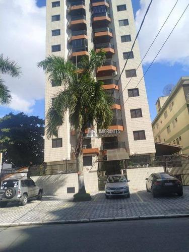 Imagem 1 de 30 de Apartamento De 2 Dormitórios, Sendo 1 Suíte, Na Guilhermina, Em Praia Grande - Ap2464