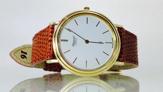 Reloj Chopard De Oro Amarillo Macizo De 18k. 32mm (inv 1903)