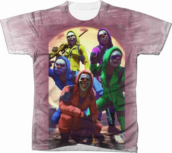 Camiseta Camisa Personalizada Free Fire Jogo Game Ref 16