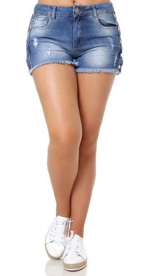 Queima De Estoque Shorts E Saia Jeans Feminino Tam. 34 Ao 46