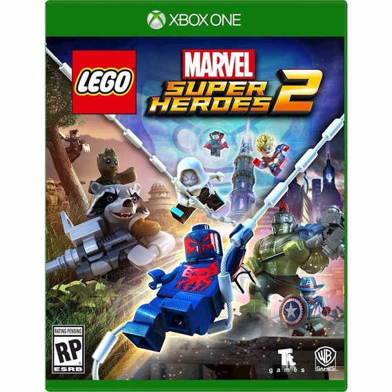 Jogo Lego Marvel Super Heroes 2 (novo) Xbox One