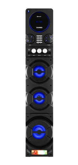 Parlante Torre Party Audio System Con Bluetooth Sansei Sbt25