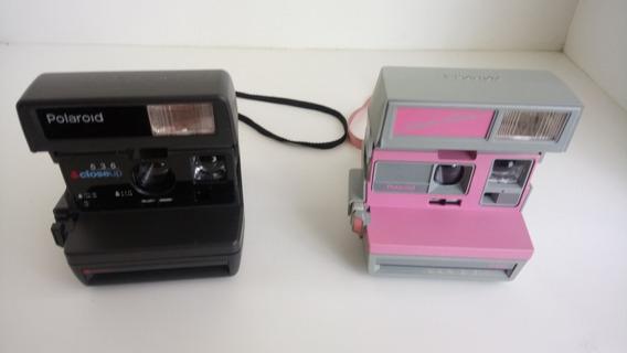 Lote De 2 Câmeras Polaroid - Sem Teste - Made United Kingdom