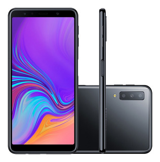 Smartphone Samsung Galaxy A7 Sm-a750g 4g Android 64gb Preto