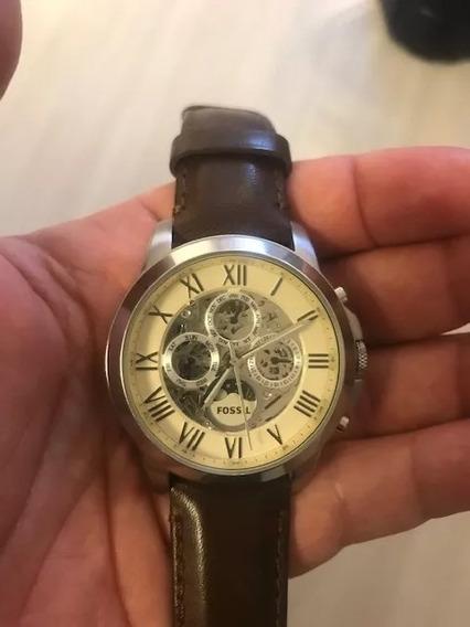 Relógio Fossil Original Me 3027 Automático - Seminovo