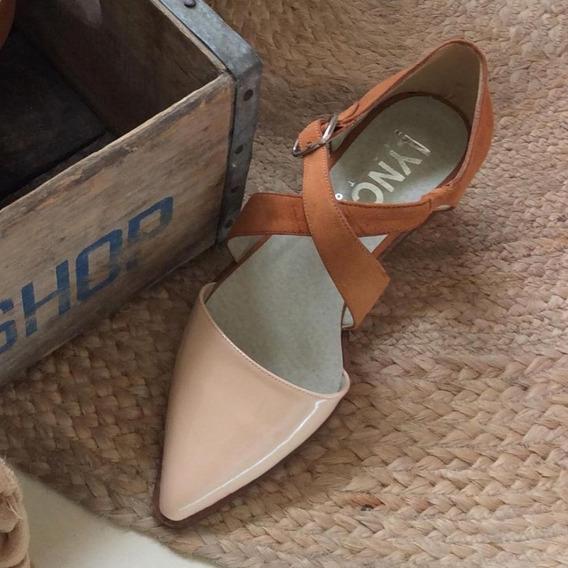 Zapato Mujer Chata En Punta Lynch #112 V20