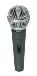 Microfone Original De Videokê Original Kmc 6300 Com Cabo 5 M