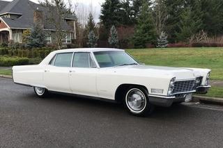 Cadillac Fleetwood 1967, Não Impala Dodge Galaxie Ford Chevy