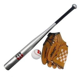Taco De Aluminio Hyper Sports Baseball C/ Bola E Luva