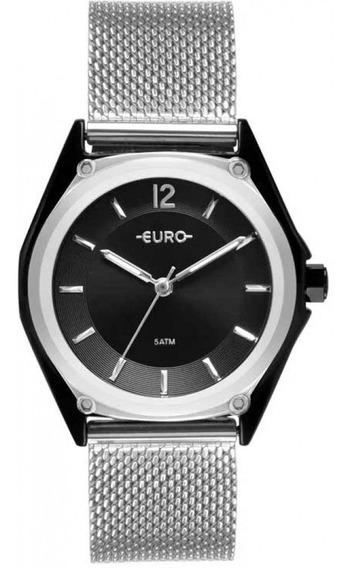 Relógio Euro Feminino Color Mix Prata Eu2035ypk/5p C/nf