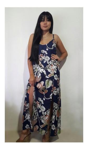 Maxi Vestido Ideal Fiesta De Dia