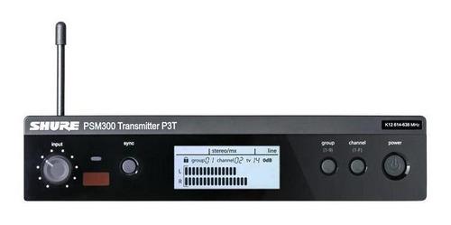 Transmissor Psm300 Monitor Sem Fio Shure P3tbr-k12