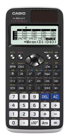 Calculadora Casio Fx-991lax-bk-w-dh