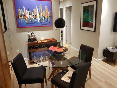 Apartamento Com 2 Dormitórios À Venda, 65 M² Por R$ 596.000 - Vila Gumercindo - São Paulo/sp - Ap0824