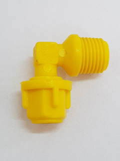 Joelho Micro Tubo 8 Mm X 1/4 Irrigação Kit 50 Peças
