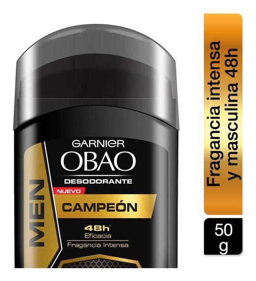 Desodorante Hombre Stick Barra Obao Campeon 50g Garnier