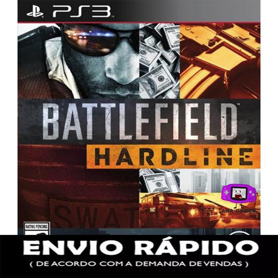 Battlefield Hardline Ps3 - Jogo Digital