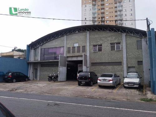Galpão Comercial À Venda, Casa Verde, São Paulo. - Ga0023