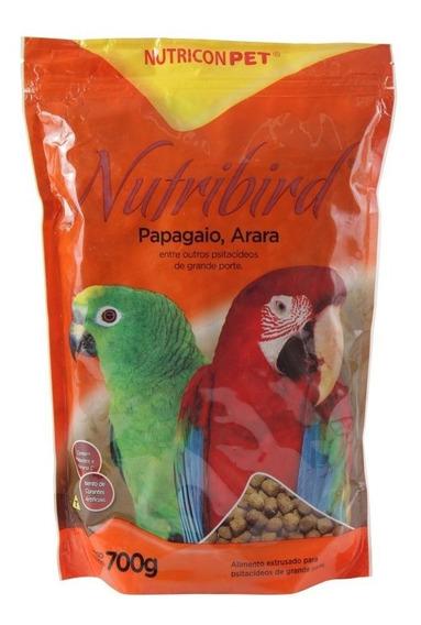 Ração Nutricon Nutribird Premium Para Papagaio E Arara 700gr
