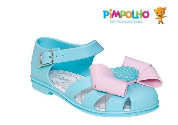 Sandália Infantil Colorê Pimpolho 0033234e
