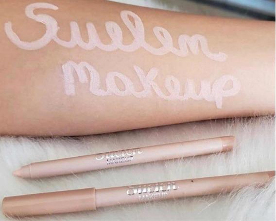 Lápis Delineador A Prova Dágua Suelen Makeup - Nude Bege
