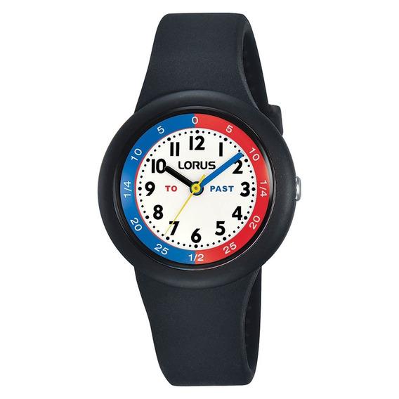 Reloj Lorus By Seiko Rrx91ex9 Niños Silicona Quartz 100m
