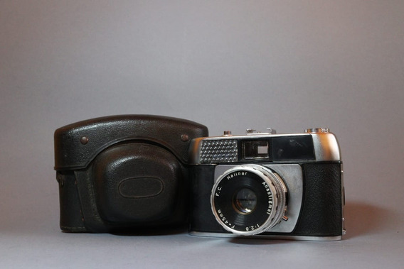 Camera Halina Paulette Elétrica Lente Halinar Anastigmat 2.8
