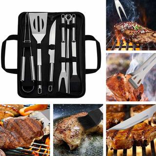 9pc Utensilios De Barbecuecarne Asada