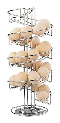 Imagen 1 de 4 de Dispensador Skelter De Huevo De Acero Inoxidable De Diseño