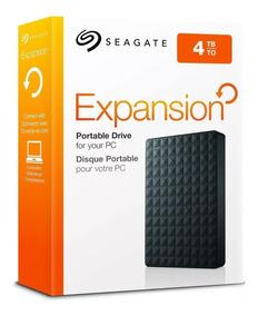 Hd Externo 4tb Seagate Portatil Expansion De Bolso 4000gb