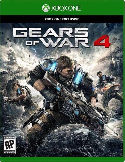 Gears Of War 4 Xbox One Código 25 Dígitos