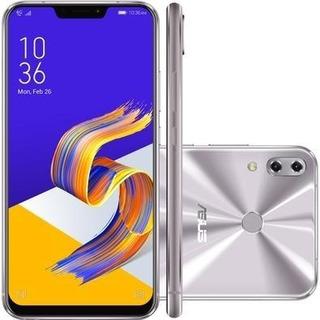 Celular Zenfone 5 Prata Asus Tela 6,2 4g 64gb Ze620kl Nota Fiscal Garantia De Fabrica